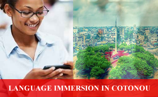 Language immersion in Cotonou